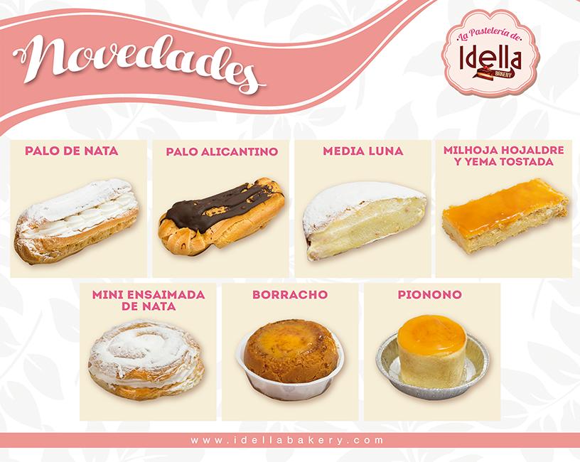 Nueva web Idella Bakery, tu empresa de bollería y pastelería artesanal