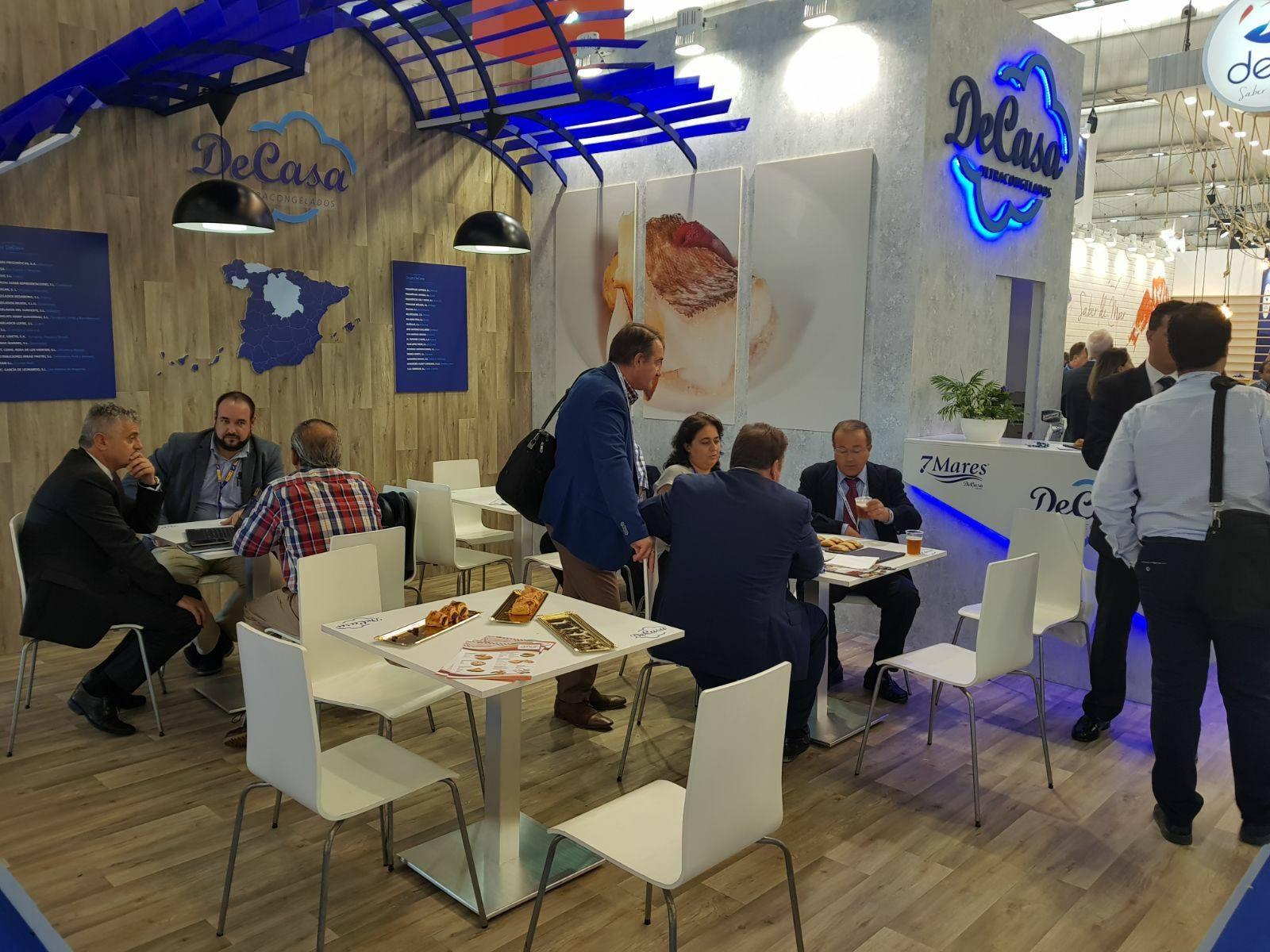 Idella Bakery asiste a la feria de productos del mar Conxemar en Vigo