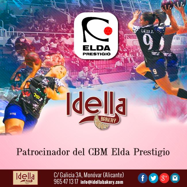Idella Bakery patrocinador del club de balonmano femenino Elda Prestigio