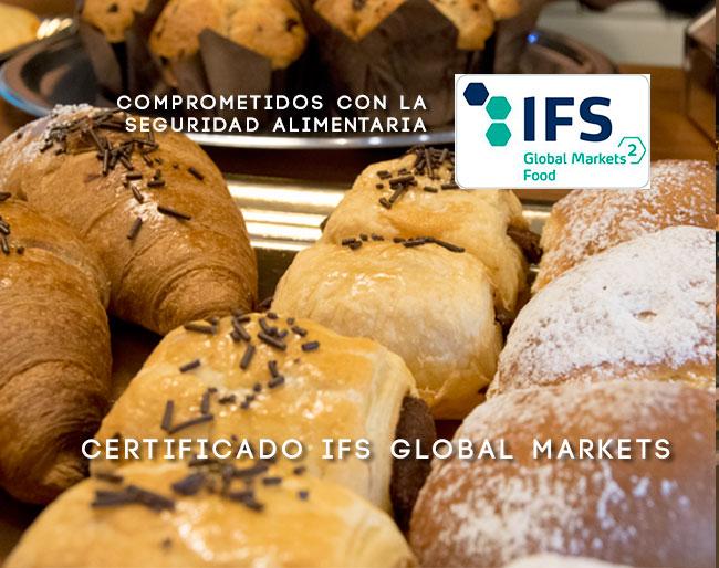 Idella Bakery recibe el Certificado Internacional IFS GLOBAL MARKETS en seguridad alimentaria