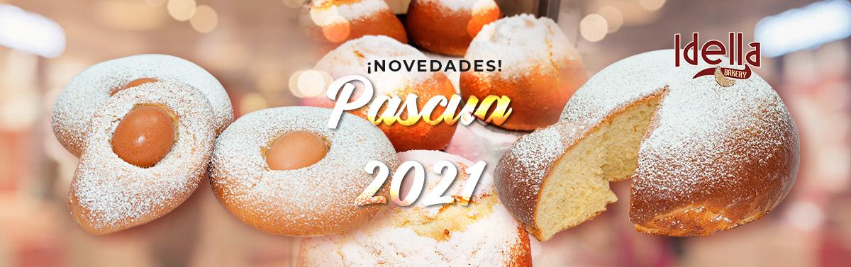 Novedades Semana Santa 2021 en Idella Bakery: monas y toñas veganas sin gluten!